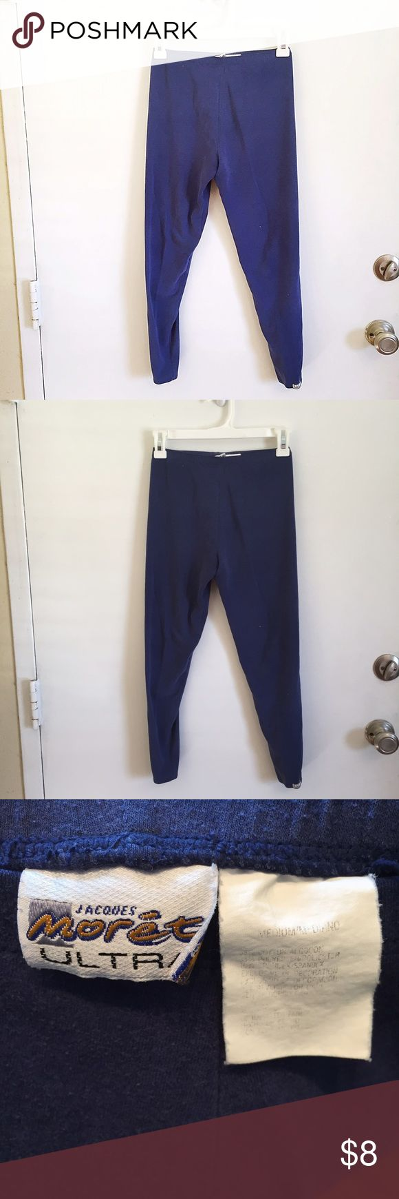 Navy Leggings Medium navy blue leggings. Very minimal wear. #navy #blue #leggings #basic #staple #layering #medium #punkydoodle  No modeling Smoke and pet free home I do discount bundles Jaques Moret Pants Leggings