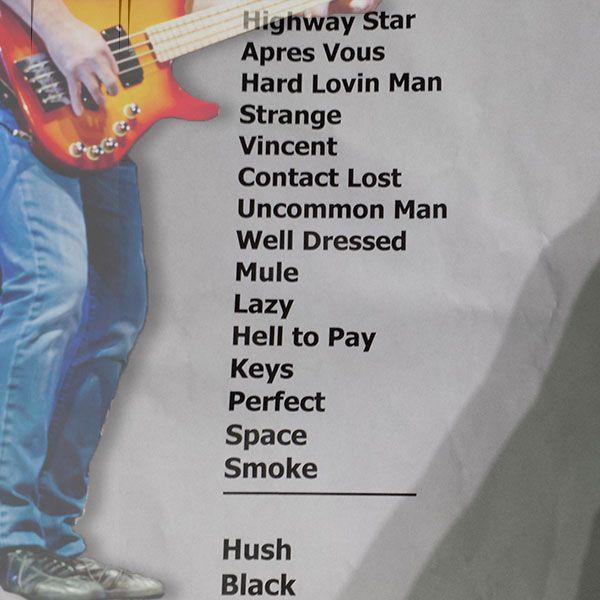 Deep Purple, Festival d'été de Québec, 19 juillet 2015, scène Bell des plaines d'Abraham.