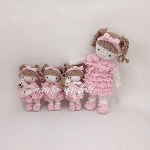 #mariasandoli #maria_sandoli #cute #croche #crochet #crochefofo #crochelindo #crochetaddict #doll #decoração #decoradora #decoraçãofesta #decoraçãoquartoinfantil #amigurumidoll #artesanal #handmade #handcraft #poupee #boneca #baby #portadematernidade #meninas #mimo #presenteafetivo
