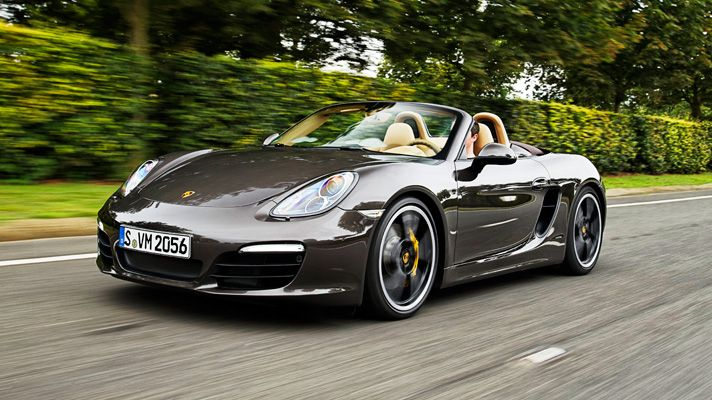 Porsche Boxster S Sport  Porsche is getting better with age !!!