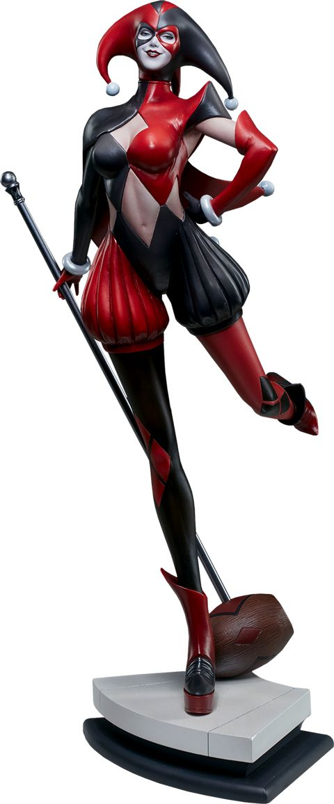 DC Comics Harley Quinn Statue by Sideshow Collectibles | Sideshow Collectibles