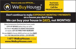 We Buy Houses Postcard Back | We Buy Houses Marketing | Pinterest ...