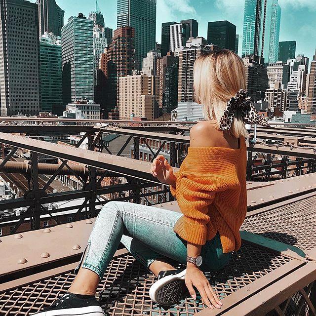 New York, New Yooooooooork ♥️ Nachdem ich den Flug gestern vorbildlich überstanden habe, konnte ich mich einer weiteren Phobie stellen: Fahrstuhl…