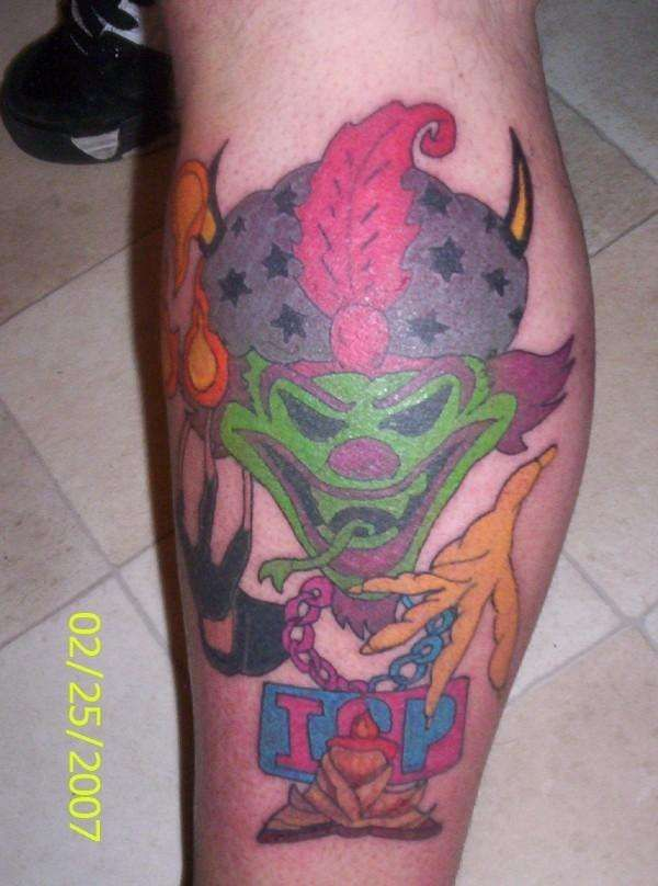 Icp Joker Cards Tattoos