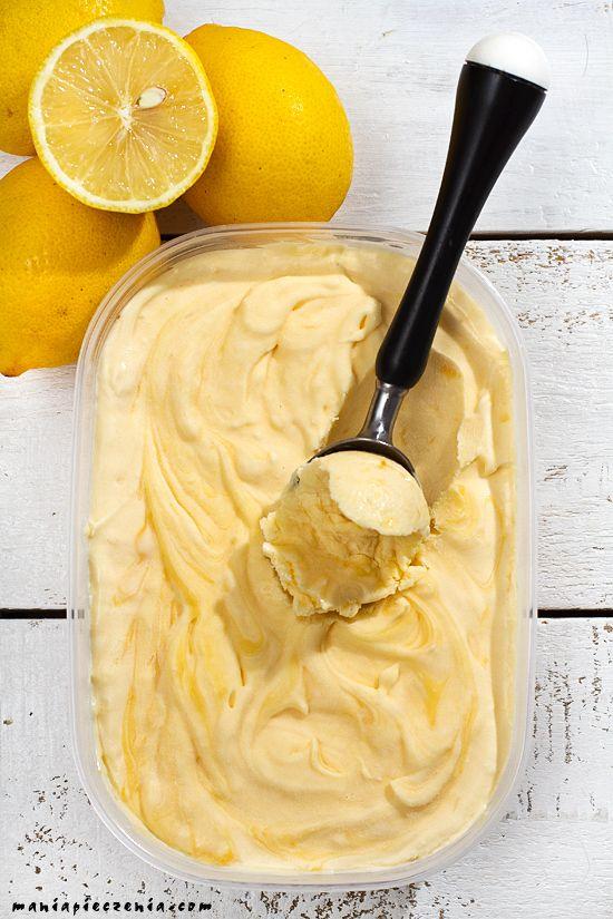 maniapieczenia: Najlepsze lody cytrynowe bez maszyny