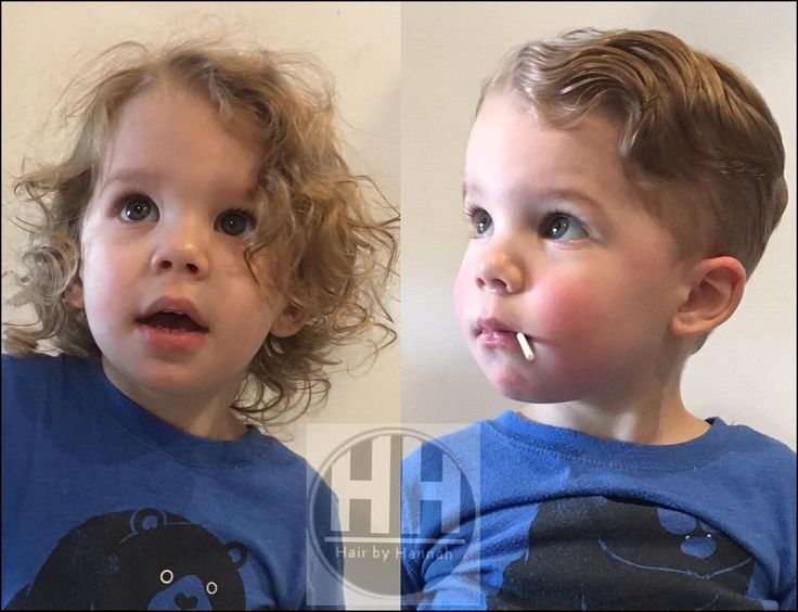 Little Boy Haircuts Wavy Hair Erkek Bebek Sac Kesimi Oglan