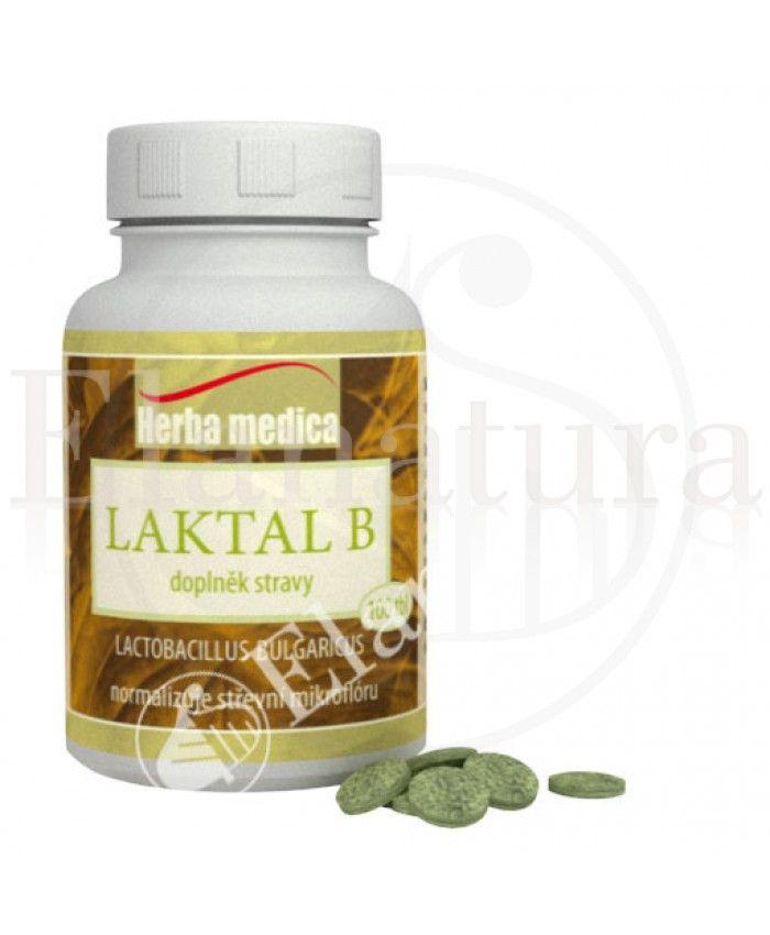 Laktal B - Lactobacillus Bulgaricus, chrání střevní mikroflóru, neutralizuje plísňové a bakteriální infekce v organismu. Chrání stěnu střevní a mikroflóru před škodlivými vlivy stravy, antibiotik a léků.