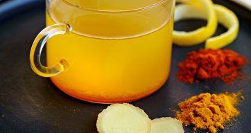 Te med gurkemeie og ingefær - Berit Nordstrand