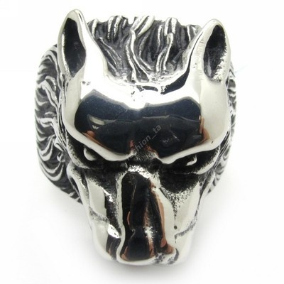 I need a deadly punk ring. I picked a wolf. LONE WOLF!!