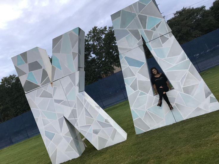 12 foot 3D wooden Kappa Delta sorority letters