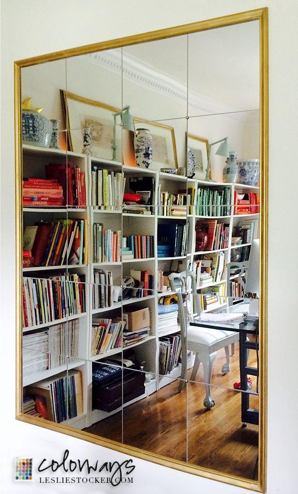 DIY Mirror Inspired By Pottery Barn