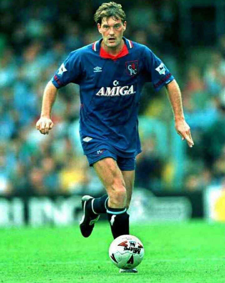 Glenn Hoddle of Chelsea in 1993.