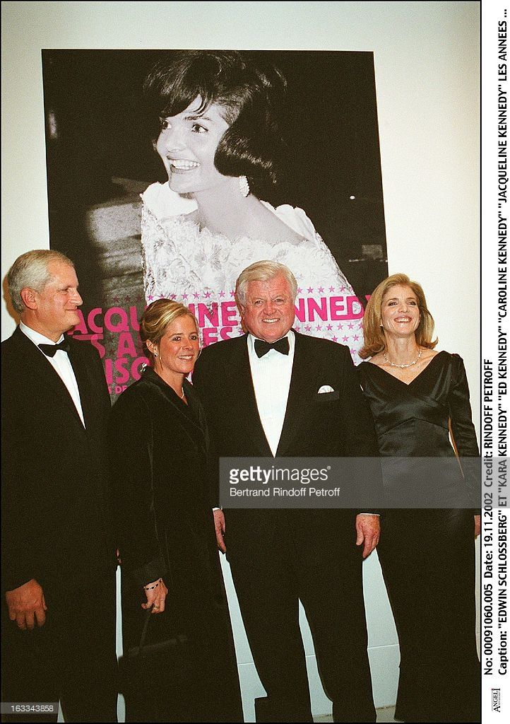 Edwin Schlossberg and 'Kara Kennedy' 'Ed Kennedy' 'Caroline Kennedy'... News Photo | Getty Images