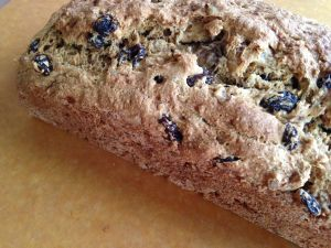 Raisin Walnut Bread from The China Study Cookbook