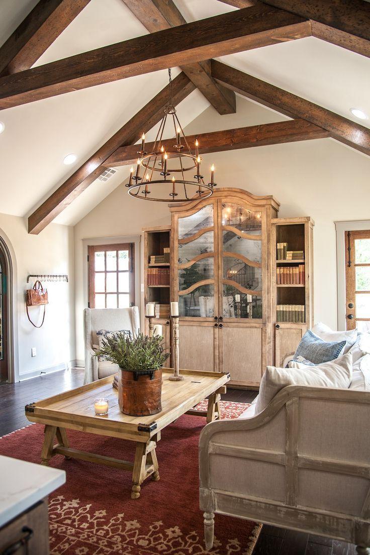 Episode 14 The Hot Sauce House Magnolia Farm House Living Room Rustic Italian Decor Living Room Renovation