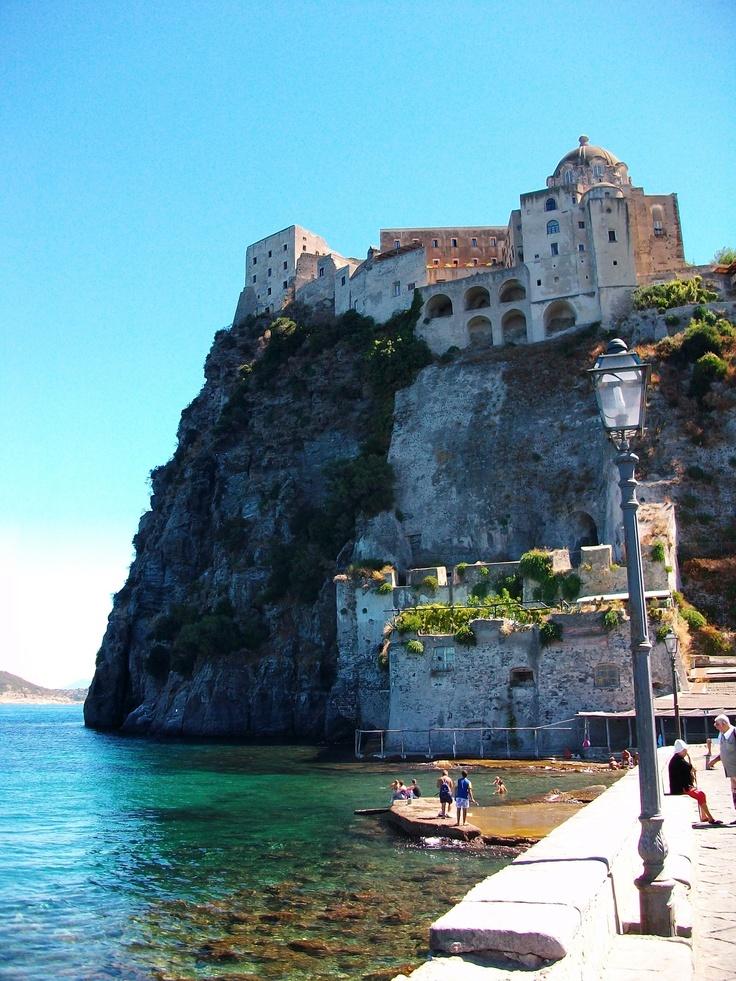Ischia ponte, castello