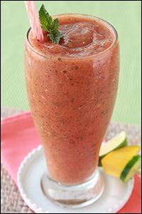 Hungry Girl's Beyond Berry Mango Smoothie