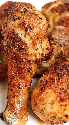 "Cajun Marinated Chicken .. ""If you have notice, I like dry look bar-b-que chicken. I hate the bar-b-que wet and not coated well on the chicken ..."