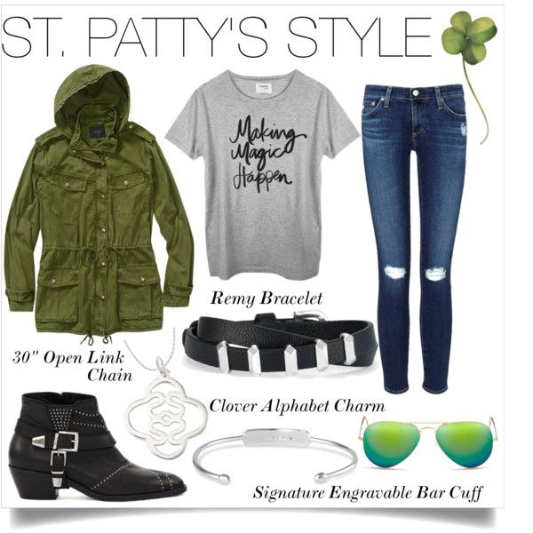 Chic and casual St. Patrick's Day style complete with Stella & Dot jewels is all you need!