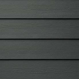 Shop James Hardie HardiePlank Primed Iron Gray Cedarmill Lap Fiber Cement Siding Panel (Actual: 0.312-in x 6.25-in x 144-in) at Lowes.com