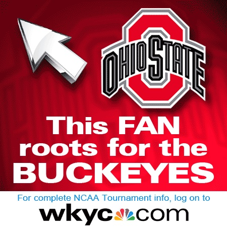 It's tourney time!  Go Buckeyes! Feel free to download and share on your Facebook page.