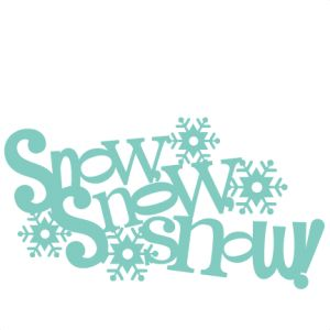 Snow Snow Snow Title: Miss Kate Cuttables