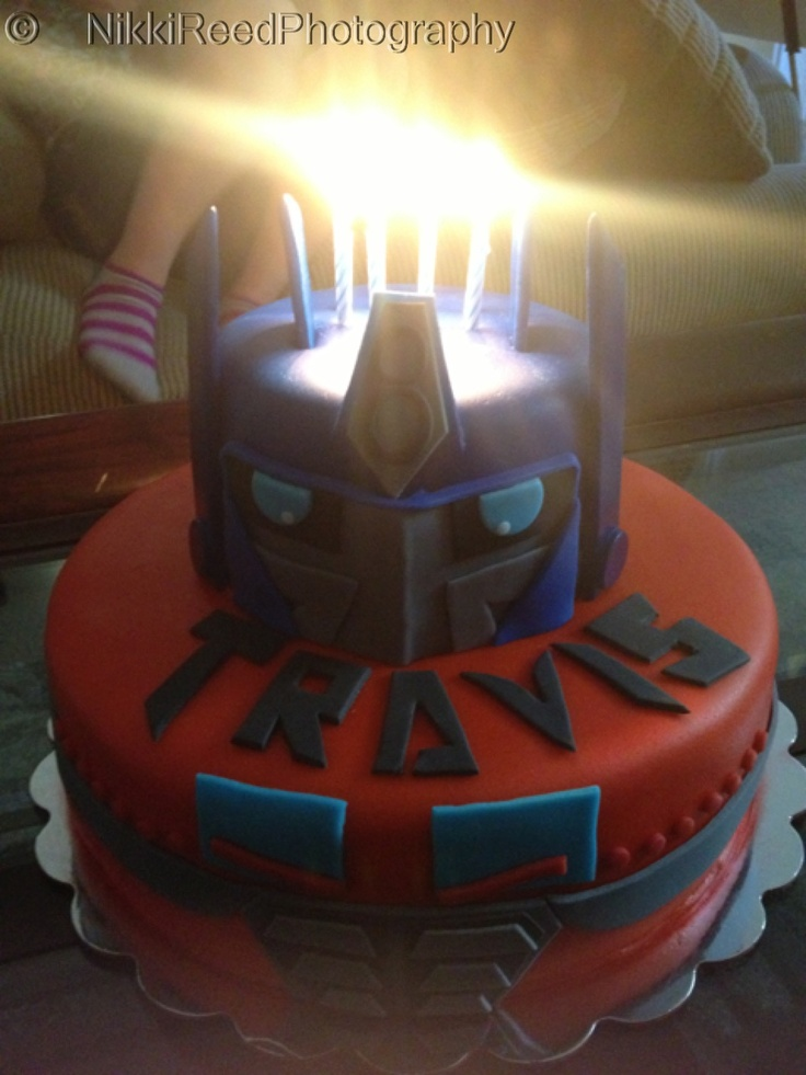 Optimus Prime Transformers Cake Cakes Pinterest