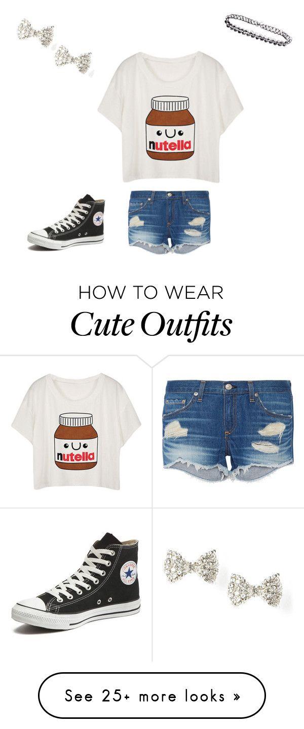 Para el verano Los pantalones cortos de jeans, la camiseta de blanca, y Los zapatos de tenis de negro. Cuestan: $70/61.60€ Clavado por: Amanda Barrett