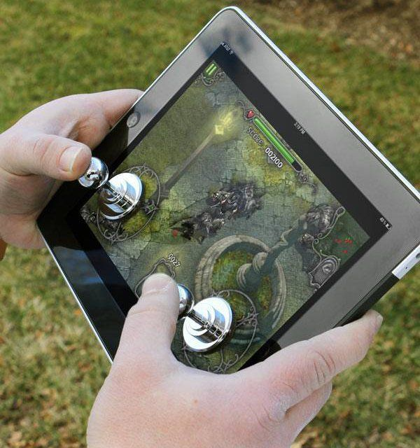 The Joystick-It gives you a real physical joystick for increased precision with touchscreen based games. Simply press down to attach it to your tablet based computer's screen for improved gaming. No wires or batteries needed. The Joystick-It works with thousands of different game apps.