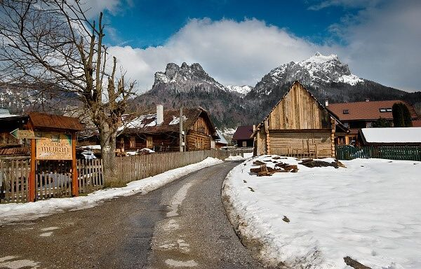 Charming village Štefanová in Orava region. Where peace, quiet and tradition still have its place....