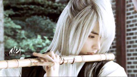 sung hoon como chun eum ja-EL PELO, EL PELO :3