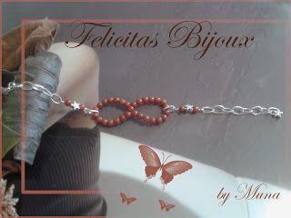 Bracciale Infinito ... il potere di un simbolo... Infinity Bracelet ... the power of a symbol ... Handmade