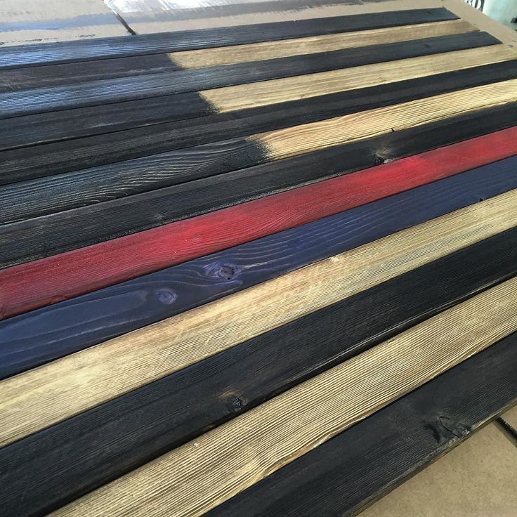 Got a new one coming together today. Customer requested there be a thin red and thin blue line on here. Get your handmade flag today! Shoot us an email! We are FlagSmiths #freedom #army #navy #Marines #airforce #redwhiteblue #firefighters #policeofficers #thinredline #thinblueline #OldGlory #red #white #blue #wooden #flags #custom #custommade #flag #smiths #FlagSmiths #beautiful #art #woodwork #nofiltersneeded de flag_smiths