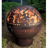 Found it at Wayfair - Full Moon Party Dome Bowl Fire Pit