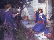 The Annunciation 1914  by John William Waterhouse
