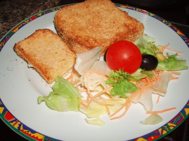 Mozzarella in carrozza al forno - http://www.food4geek.it/mozzarella-carrozza-al-forno/