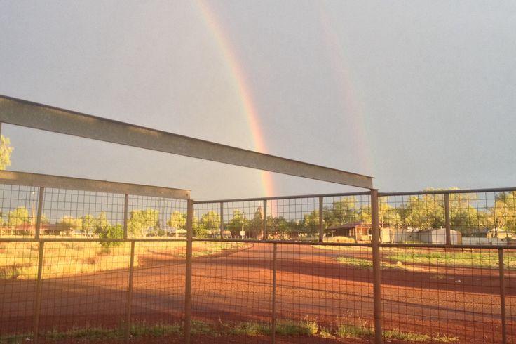 Western Australia - Balgo Community - Room with a view