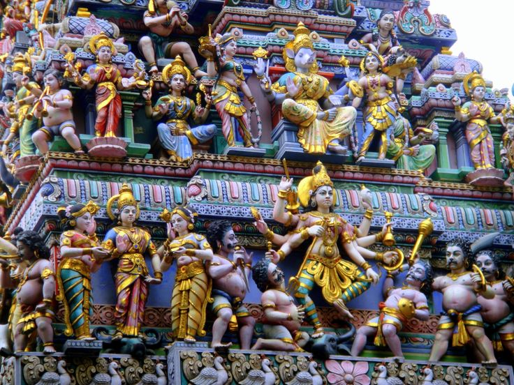 Little India is an ethnic neighborhood with Tamil cultural elements and aspects of other cultures