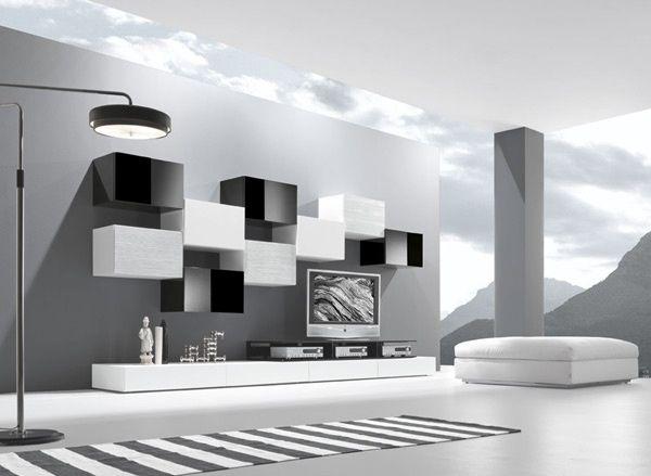 Oltre 25 fantastiche idee su parete tv moderna su - Parete tv moderna ...