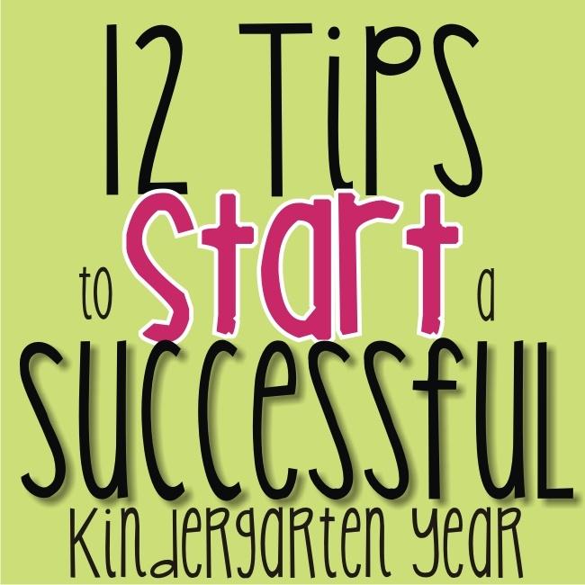 KindergartenWorks: 12 tips to start a successful kindergarten year