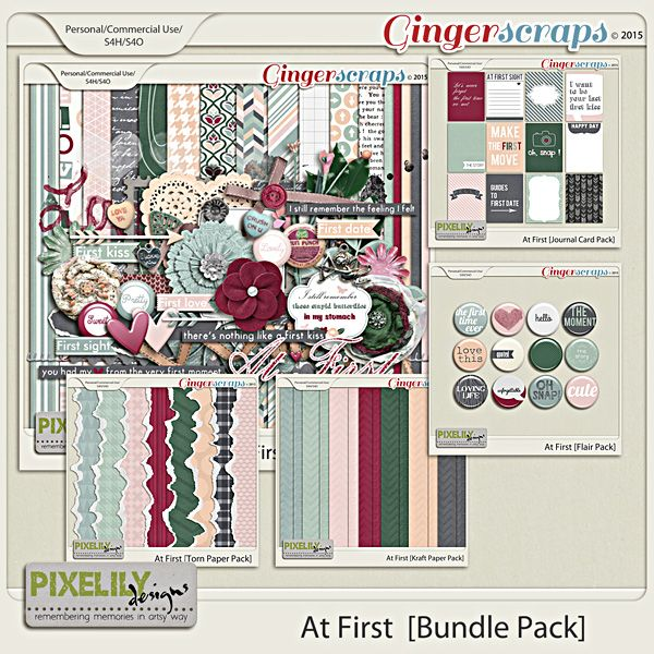 {At First} Digital Scrapbook Bundle by Pixelily Designs available at Gingerscraps.net http://store.gingerscraps.net/At-First-Bundle-Pack.html #digiscrap #digitalscrapbooking #pixelilydesigns #atfirst