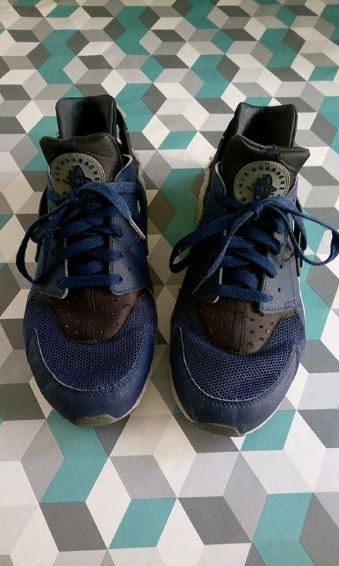 Nike Air Huarache bleu marine taille 46