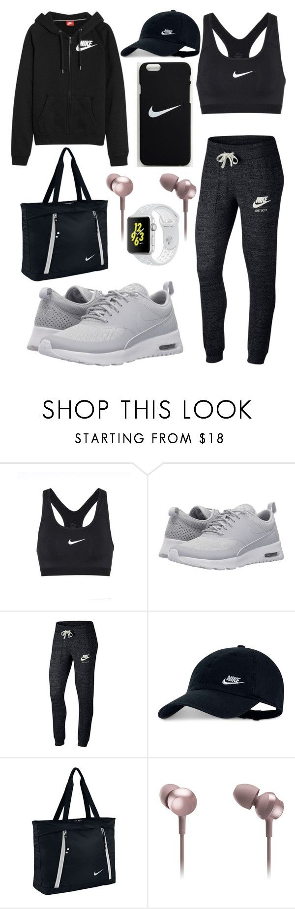 """""""Nike"""" by deehat ❤ liked on Polyvore featuring NIKE and Panasonic"""