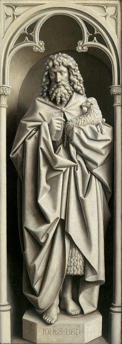 Иоанн Креститель. Ян ван Эйк