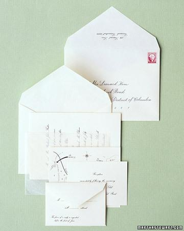 How To Properly Assemble Your Wedding Invitation