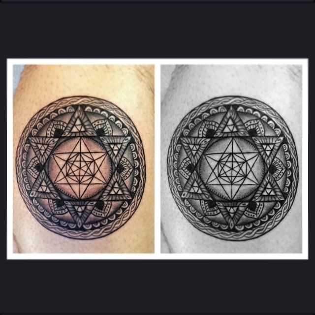 Merkaba Tattoo Gallery