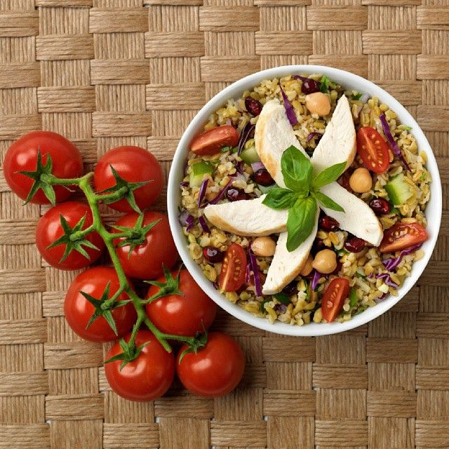 Why don't you try this quick and easy recipe for a healthy #freekeh salad tonight? You will find Cracked Roasted Wholegrain Freekeh in @colessupermarkets, @igaaustralia and @foodworks_australia  Recipe for yummy and healthy Freekeh salad (serves 2)  #wholegrains #supergrains #saladrecipes #instafood #nutrition #healthyliving #diet #wellness #weightmanagement