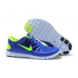 Nike Free 5.0+ Herresko Blå Grønn | Nike sko tilbud | Duty-free Nike