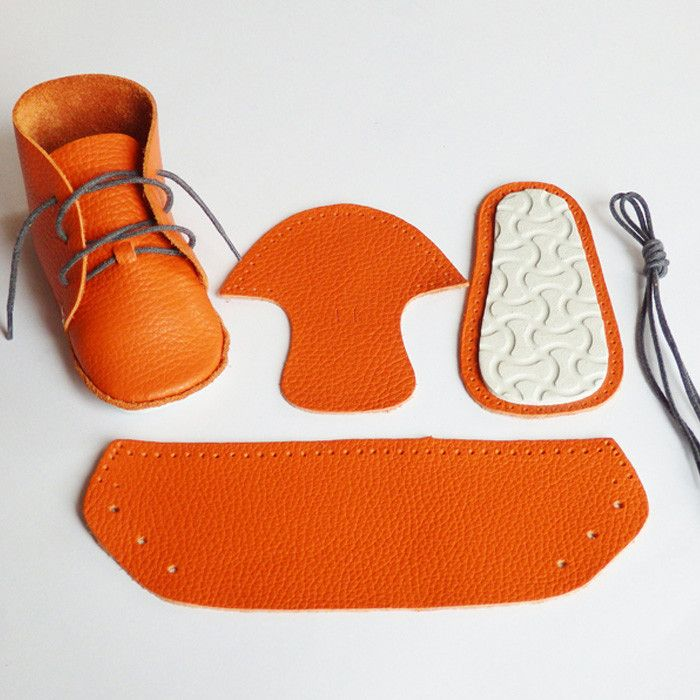 Everything you need to make your AKI First Baby Shoes from Small to TALL