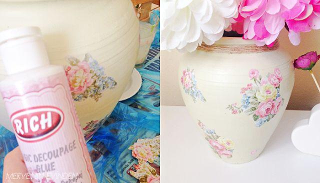 Hobi işleri | Küp vazo boyama,  vazo boyama, küp boyama, ahşap boyama, hobi, el işleri, merveninevinden.blogspot.com.tr
